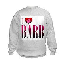 I Heart Barb Sweatshirt