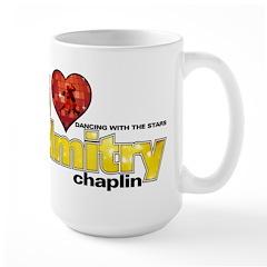 I Heart Dmitry Chaplin Large Mug