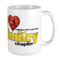 I Heart Dmitry Chaplin Large Mug