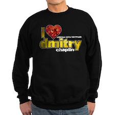 I Heart Dmitry Chaplin Dark Sweatshirt