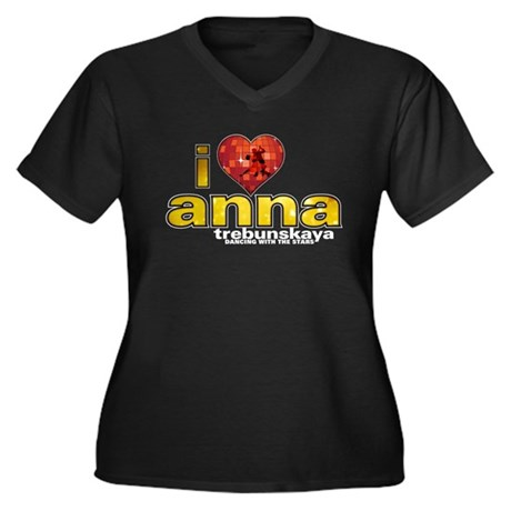 I Heart Anna Trebunskaya Women's Plus Size V-Neck