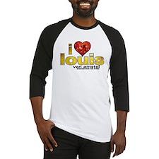 I Heart Louis van Amstel Baseball Jersey