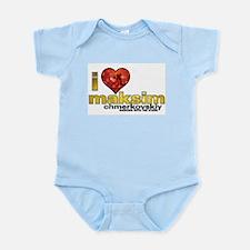 I Heart Maksim Chmerkovskiy Infant Bodysuit