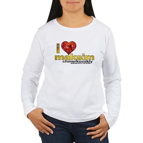 I Heart Maksim Chmerkovskiy Women's Long Sleeve T-