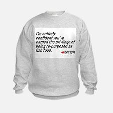 Re-purposed as Fish Food Sweatshirt