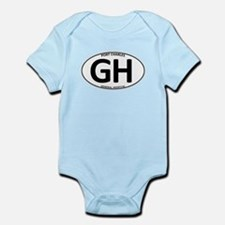 General Hospital - GH Oval Infant Bodysuit
