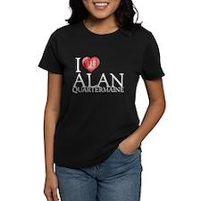 I Heart Alan Quartermaine Women's Dark T-Shirt