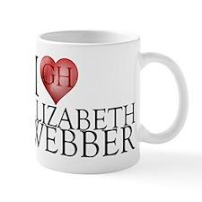 I Heart Elizabeth Webber Mug