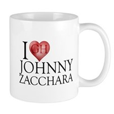 I Heart Johnny Zacchara Mug