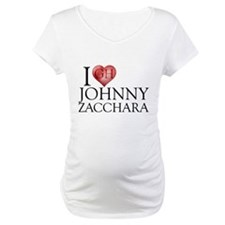 I Heart Johnny Zacchara Maternity T-Shirt