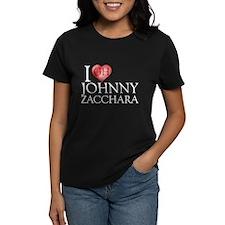 I Heart Johnny Zacchara Women's Dark T-Shirt