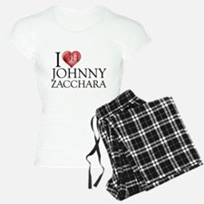 I Heart Johnny Zacchara Pajamas