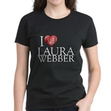 I Heart Laura Webber Women's Dark T-Shirt