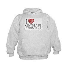 I Heart Michael Corinthos Kids Hoodie