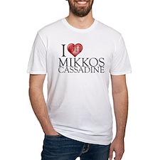 I Heart Mikkos Cassadine Fitted T-Shirt
