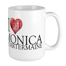 I Heart Monica Quartermaine Large Mug