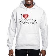 I Heart Monica Quartermaine Hooded Sweatshirt