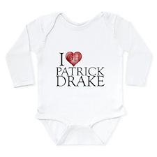 I Heart Patrick Drake Long Sleeve Infant Bodysuit