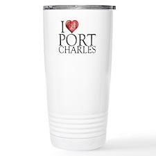 I Heart Port Charles Travel Mug