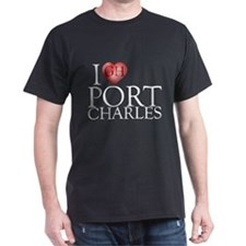 I Heart Port Charles Dark T-Shirt