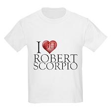 I Heart Robert Scorpio Kids Light T-Shirt