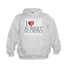 I Heart Robert Scorpio Kids Hoodie