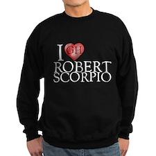 I Heart Robert Scorpio Dark Sweatshirt