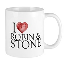 I Heart Robin & Stone Mug