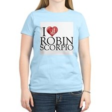 I Heart Robin Scorpio T-Shirt