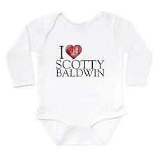 I Heart Scotty Baldwin Long Sleeve Infant Bodysuit
