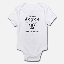 James Joyce Hack Infant Creeper