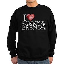 I Heart Sonny & Brenda Dark Sweatshirt