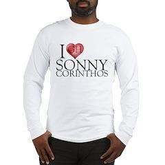 I Heart Sonny Corinthos Long Sleeve T-Shirt