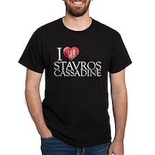 I Heart Stavros Cassadine T-Shirt