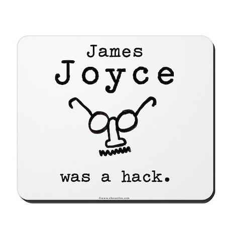 James Joyce Hack Mousepad