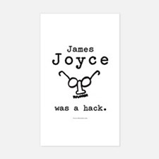 James Joyce Hack Rectangle Decal