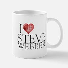 I Heart Steve Webber Mug