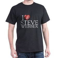 I Heart Steve Webber Dark T-Shirt