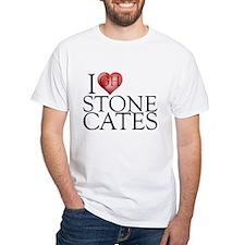 I Heart Stone Cates White T-Shirt