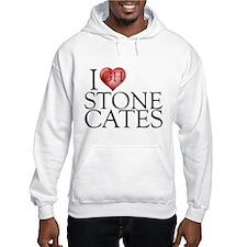 I Heart Stone Cates Hooded Sweatshirt