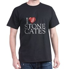 I Heart Stone Cates Dark T-Shirt