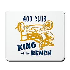 400 Club Bench Press Mousepad