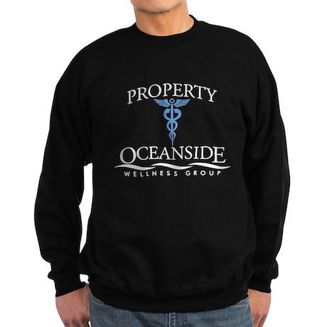 Property of Oceanside Wellnes Dark Sweatshirt