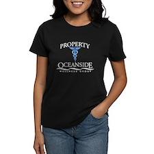 Property of Oceanside Wellness Women's Dark T-Shir