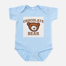Chocolate Bear Infant Bodysuit