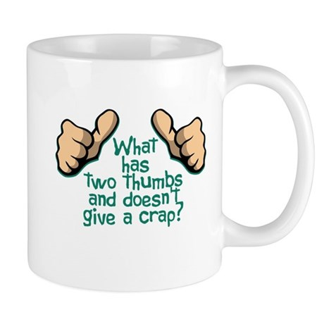 Two Thumbs Mug