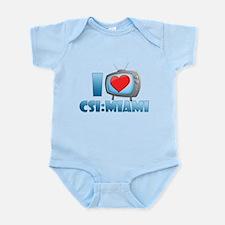 I Heart CSI: Miami Infant Bodysuit