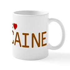 I Heart Caine Mug