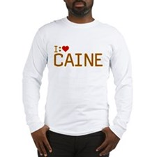 I Heart Caine Long Sleeve T-Shirt
