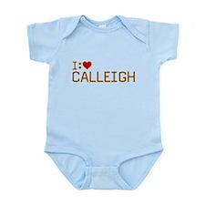 I Heart Calleigh Infant Bodysuit